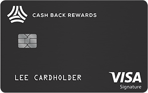 Visa Cash Back Rewards Card