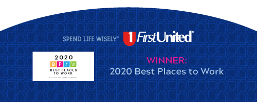 First United Bank winner of 2020 Best Places to Work by BPTW