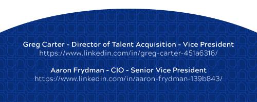 Greg Carter and Aaron Frydman's linkedin link