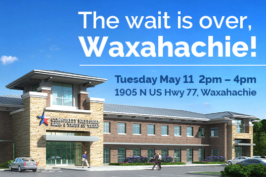 Waxahachie Grand Opening Invitation