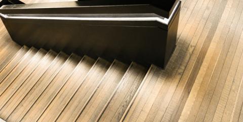 Wood Stairwell
