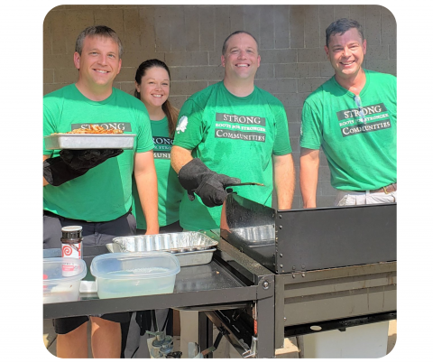 Grilling For Charity First Central State Bank