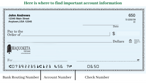 MSB Routing Number