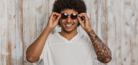 guy smiling with sunglasses
