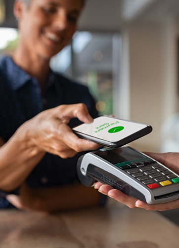 paying with phone