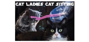 Cat Ladies Cat Sitting logo