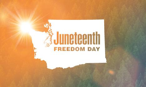Juneteenth freedom day blog image